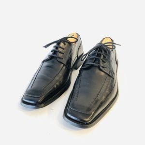 Stacy Adams Black Leather Oxford Dress Shoes 8.5